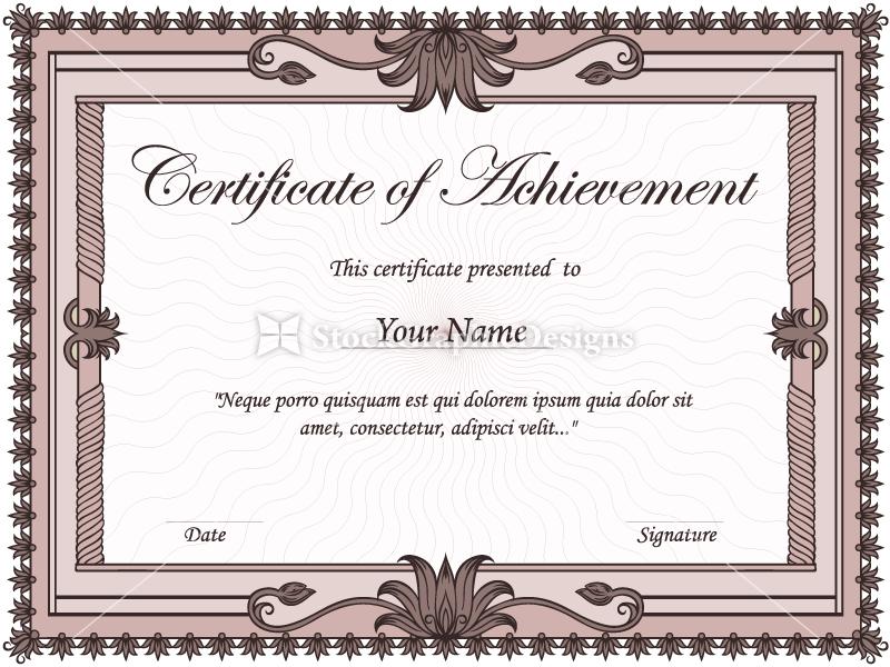 Certificate borders vector joy studio design gallery for Photoshop certificate template