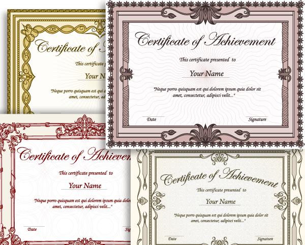 photoshop certificate design joy studio design gallery