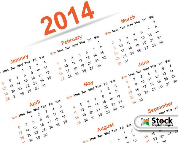 Free Printable Calendar Templates 2014