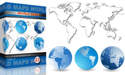 Vector World Maps