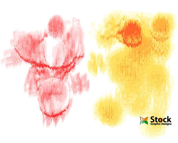 Free Vector Watercolor Textures-1