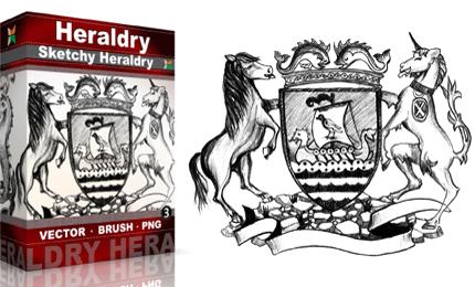 Vol.3 : Sketchy Heraldry