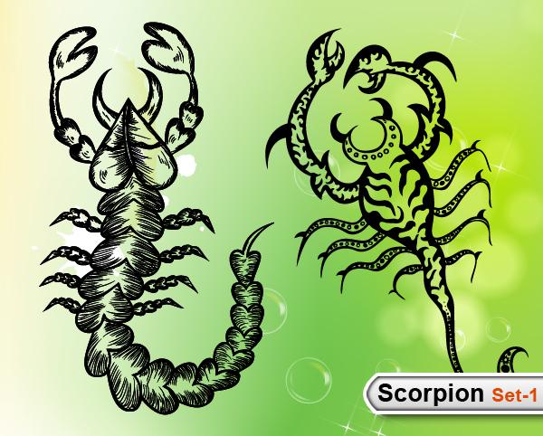 Scorpions Vector -Set-1