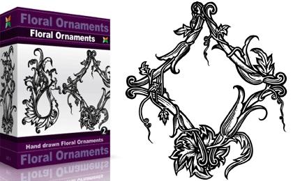 Floral Ornaments – Set.1 | Vol : 2