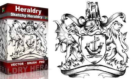 Vol.1 : Sketchy Heraldry