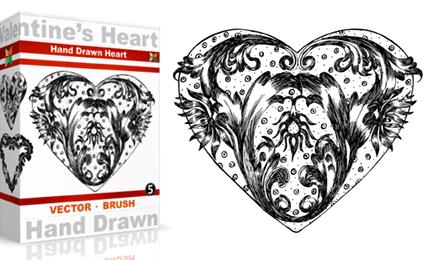 Vol.5 : Hand Drawn Valentine's Heart