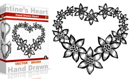 Vol.6 : Hand Drawn Valentine's Heart