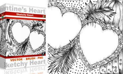 Vol.7 : Sketchy Valentine's Heart