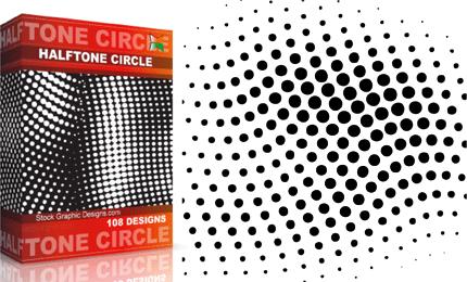 Halftone Circle Pack