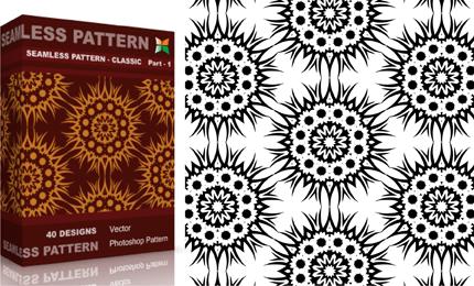 Seamless Pattern – Classic – Set.1