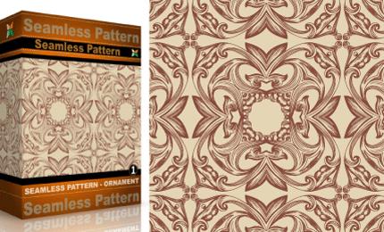 Vol.1 : Vector Seamles Pattern – Ornaments
