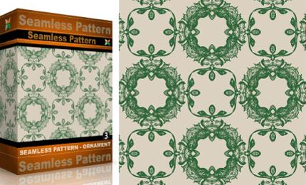 Vol.3 : Vector Seamles Pattern – Ornaments